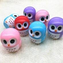 1pcs Owl Candy Colour Natural Plant Sphere Moisturizing Lip Balm