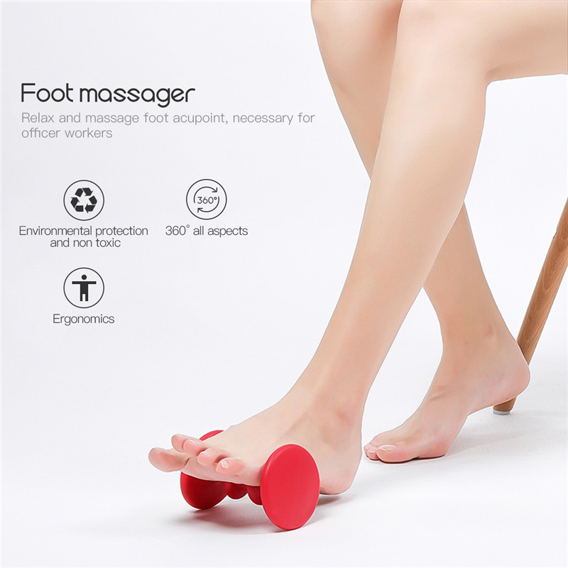 Foot Massager Roller Acupressure Therapy Relax Massage ...