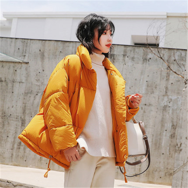3ad03a6ba4eda Kpop Harajuku 2018 Winter Jacket Coat Women Down Parka Plus Size Warm Long  Loose Thick Snow Wear Cotton Padded Quilted Jacket