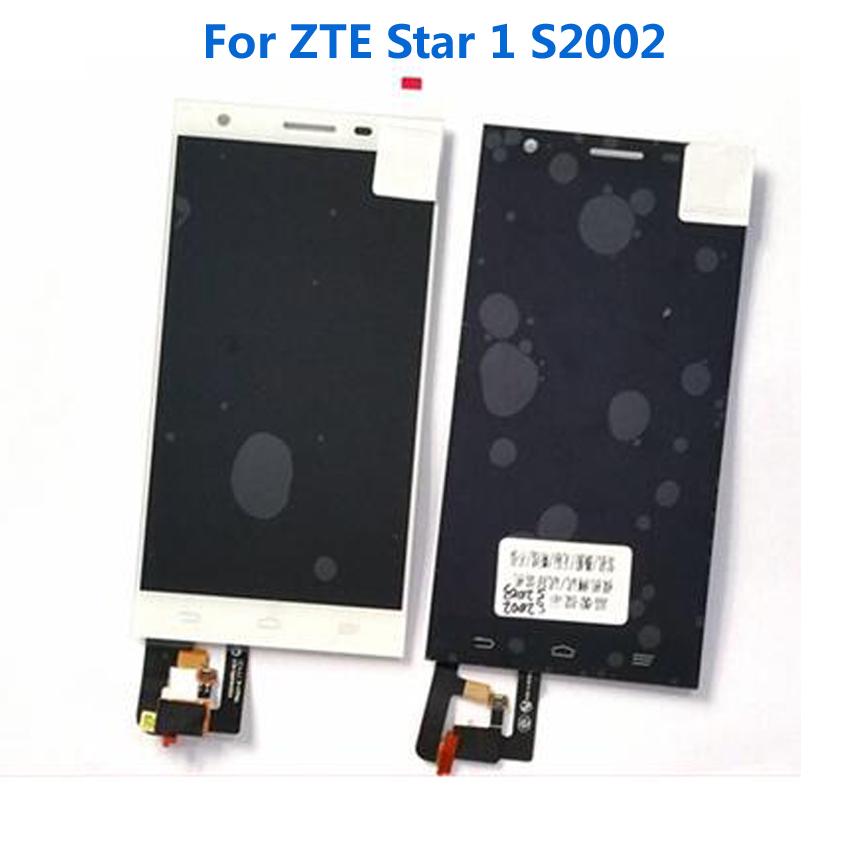 Prix pour 100% garantie de travail LCD Display + écran tactile Digitizer assemblée pour ZTE étoiles 1 s2002 star1 Mobile téléphone réparation pièces