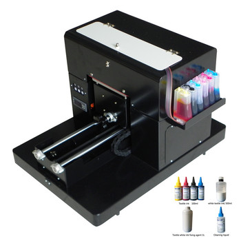 Hot Selling A4 T Shirt Printing Machine A4 Size Dtg Flatbed Printer Machine For Print Clothes Tshirt With Textile Ink Buy At The Price Of 1 312 23 In Aliexpress Com Imall Com