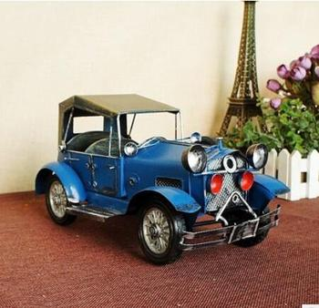 Metal crafts 1932 ford model toy alloy model genuine car model statue of liberty creative decoration Home
