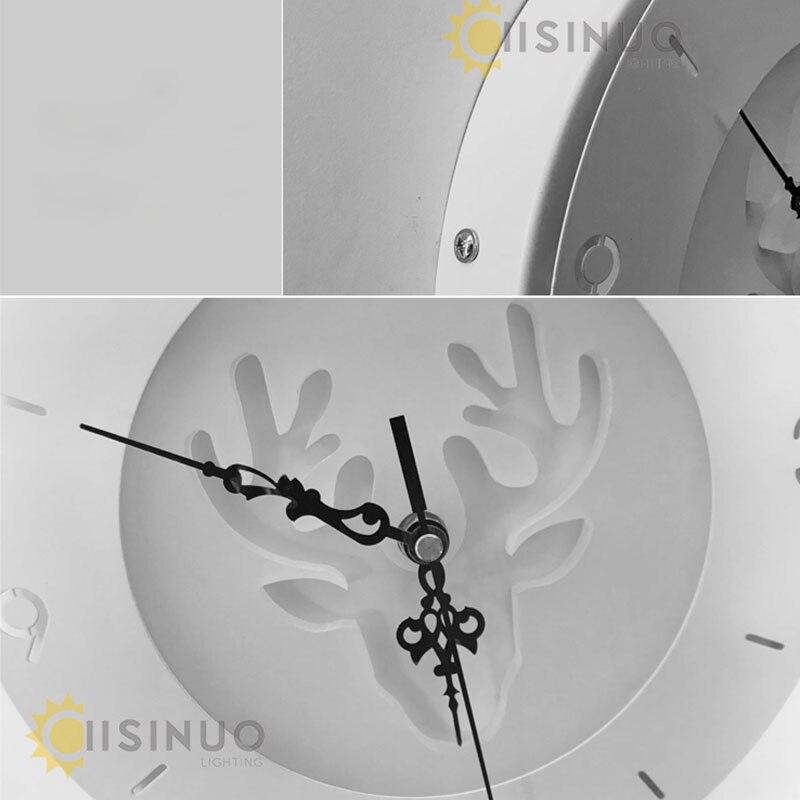 Captivating LED Wandleuchten Uhr Für Wohnzimmer Schlafzimmer 20 Watt Wand Wandleuchte Weiße  Farbe Vier Muster AC85 265V LED Wandleuchte Innen ...