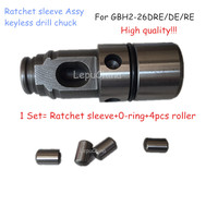 Free Shipping Higher Quality Key Less Drill Chuck Assy Ratchet Sleeve Replacement For Bosch GBH 2