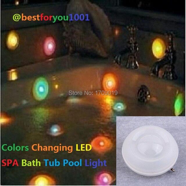 Hot Selling 1PCS 7 Colors Changing Bath Tub Swimming Pool Floating ...