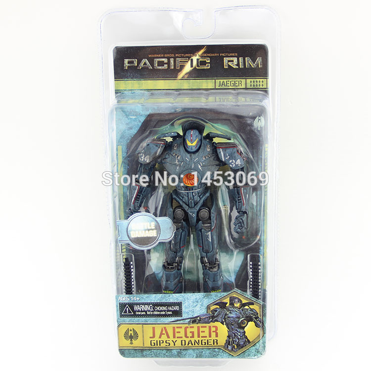 7.5 19CM NECA Pacific Rim Jaeger Gipsy Danger PVC Action Figures Collectible Model Toy