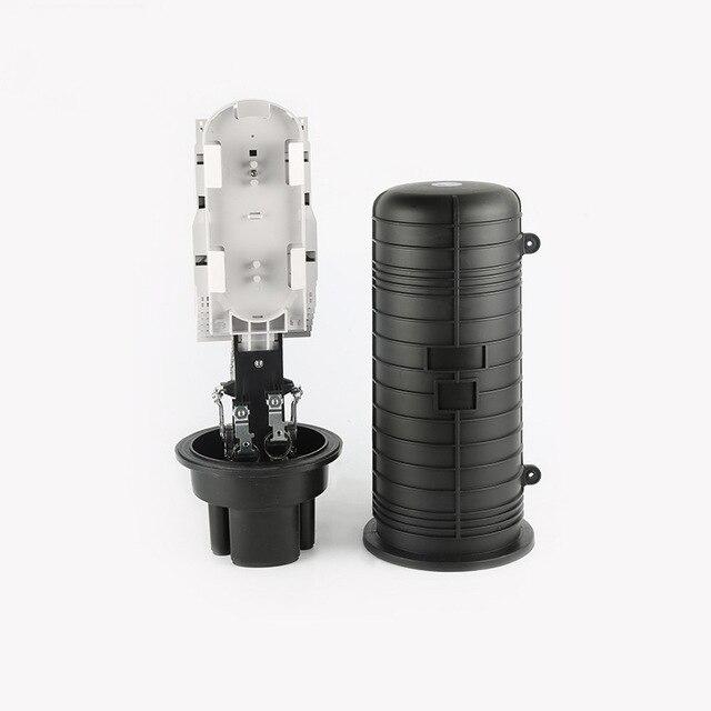QIALAN En Plastique optique boîte de distribution de fiber optique épissure commune fermeture Dôme Fiber Optique Spling Fermeture 5 ports