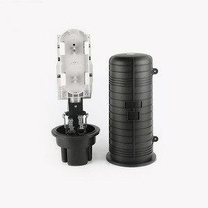 Image 1 - QIALAN пластиковая коробка для распределения оптического волокна оптическое срощенное соединение закрытие купольное оптоволоконное соединение Закрытие 5 портов