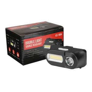Image 2 - SANYI 3800LM LED פנס 7 מצבי פנס USB נטענת 18650 סוללה פנס מצח לקמפינג ציד זרוק חינם