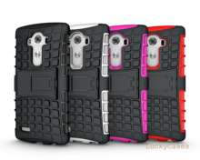 Para lg g4 stylus cubierta de silicona suave y plástico duro caso de la piel para lg caso telefono holder soporte teléfono coque