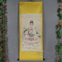 Exquisite Chinese Antique collection Imitation ancient Bodhisattva Picture No.15