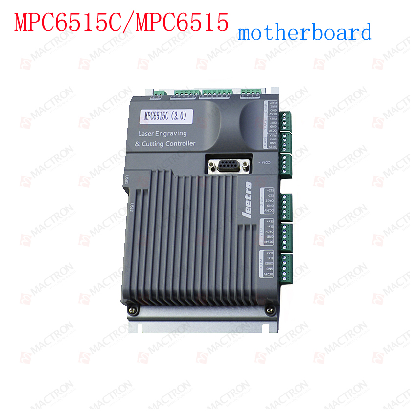 Leetro MPC6515 Laser Controller Board For Sale MPC6515C Controller System leetro co2 laser controller for laser machines mpc6525 laser controller mainboard panel dongle cable 2