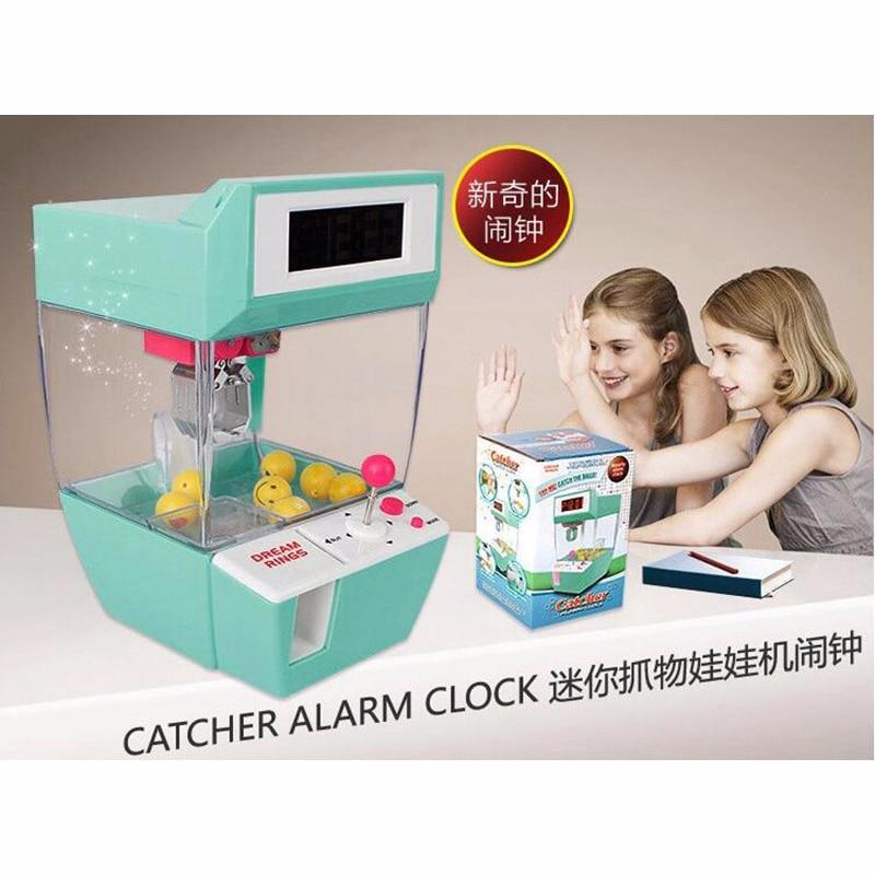 Moeda operado doces grabber boneca brinquedo bolas coletor guindaste máquina jogo eletrônico mini desktop garra máquina presente do miúdo decoração