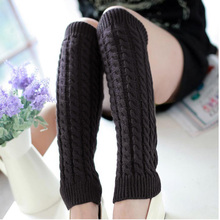 Casual Women's Warm Knitting Leg Warmers