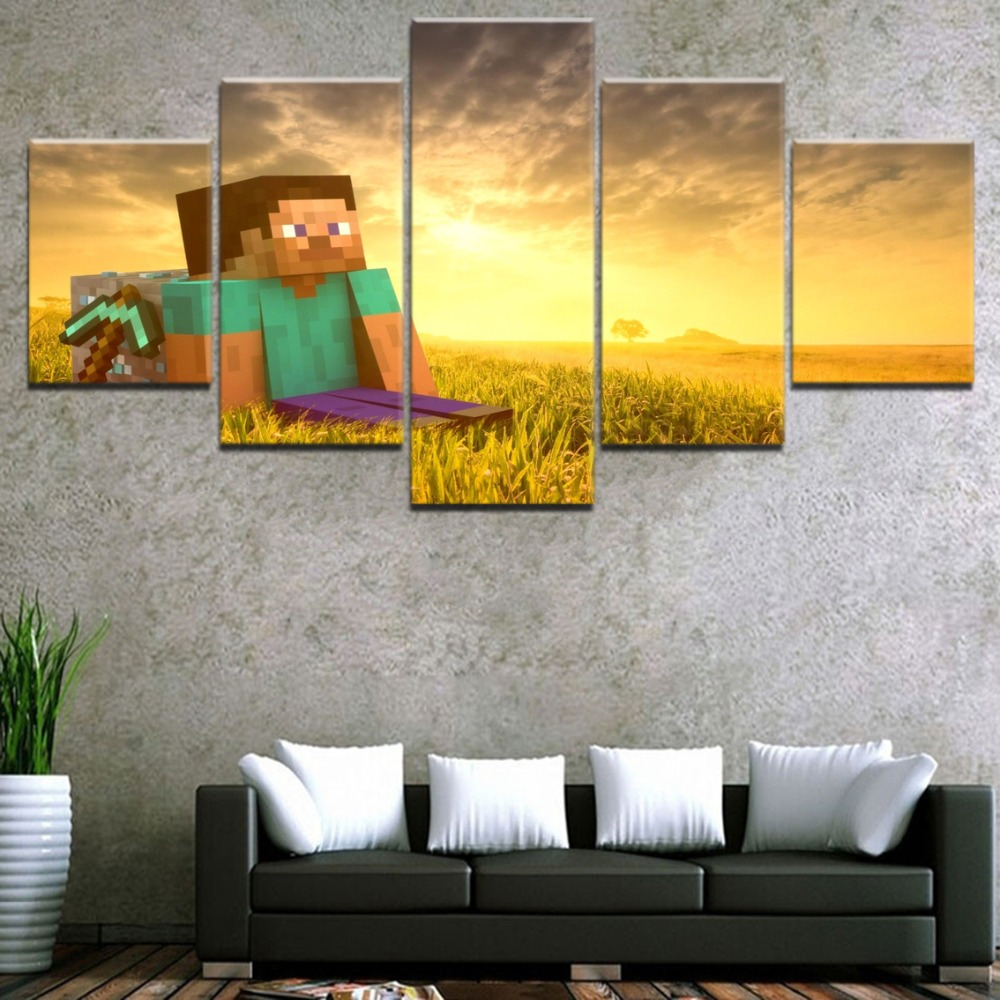 Modular Wall Art Game Poster Home Decor Living Room Canvas Picture ...