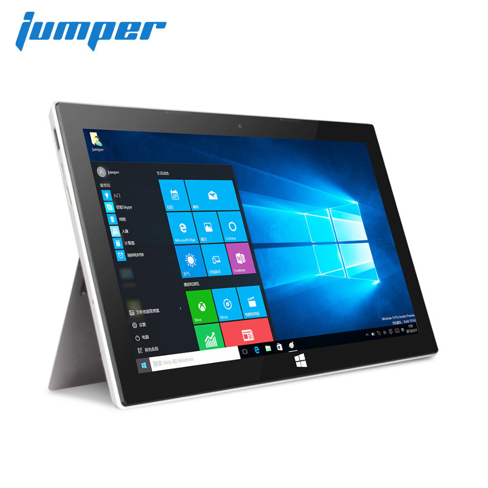 Jumper EZpad 7S 2 in 1 tablet 10.8 1080P IPS windows tablets Intel Cherry Trail Z8350 4GB DDR3 64GB EMMC tablet pc HDMI laptop image