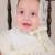 Con el Sombrero Del Bebé Bautizo de Las Muchachas de Marfil Bordado Malla Vestidos de Bautizo Bautismo Vestido Largo Bordado Glorioso 0-2 Años