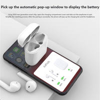 case iphone 5 i17 Tws Touch Control With Pop-up Window Wireless Bluetooth earphone Headset 5.0 Stereo Sound with charging case for iphone (2)