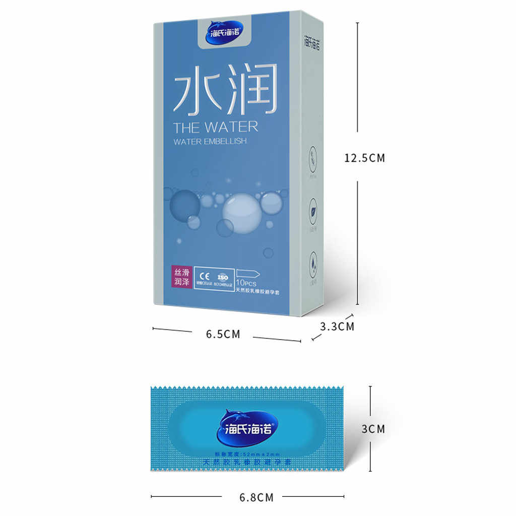 10 Pcs Natural Latex Condoms For Man Delay Condom Ultra Thin Penis Sleeve Condom Ribbed Safer Erotic Adult Toys Sex Shop D5