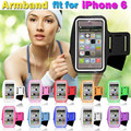 Universal Workout Gym Running Arm Band Case For smartphone 6.0 inch or below universal Waterproof Sports Leather Cover Bag