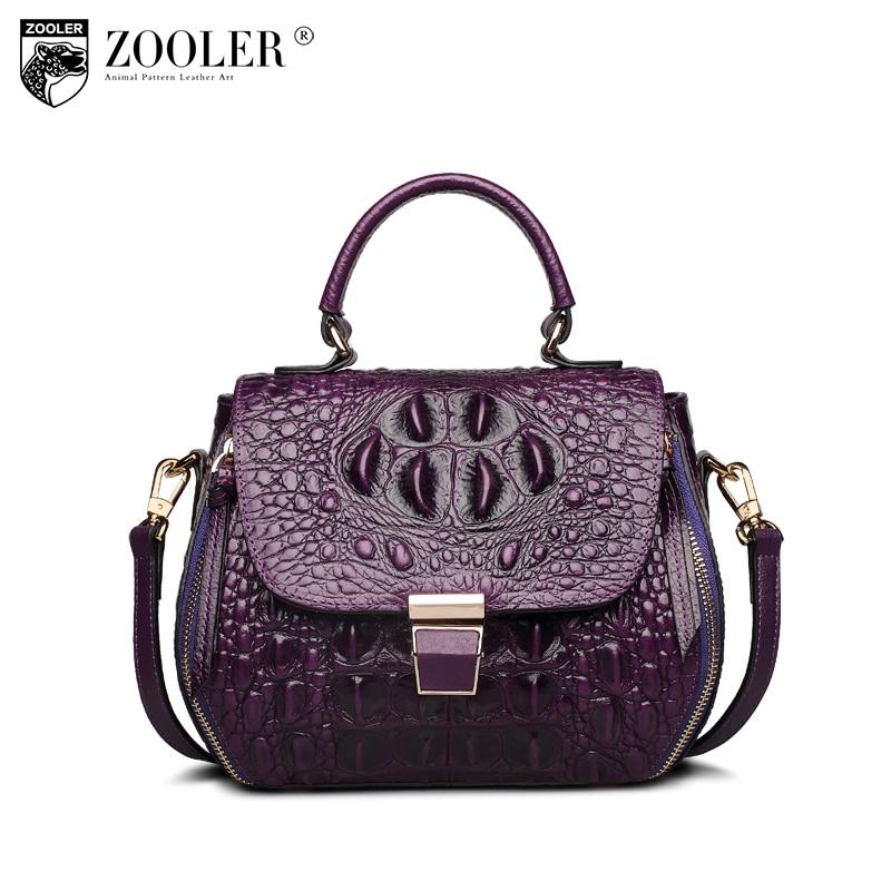 ZOOLER Luxury Handbags Women Bags Designer Genuine Leather Tote Bag Small Messenger Bag Office Ladies Shoulder Bags Bolsos Mujer