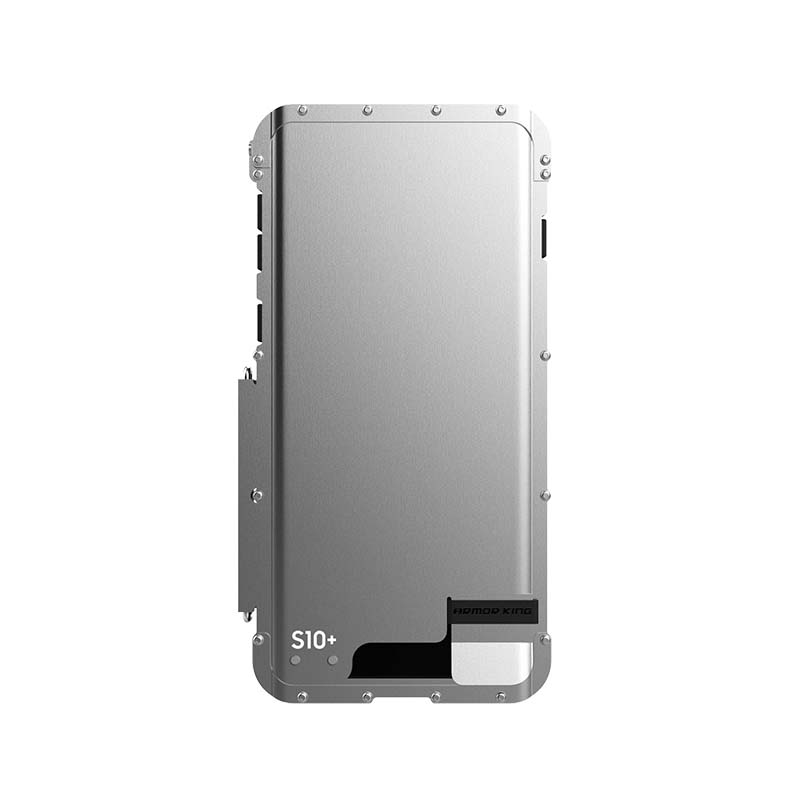 R-JUST Original Armor King Stainless Steel Flip Phone Metal Case Mobile Cover For Coque Samsung Galaxy S10 S10Plus Case KS0075  R-JUST Original Armor King Stainless Steel Flip Phone Metal Case Mobile Cover For Coque Samsung Galaxy S10 S10Plus Case KS0075