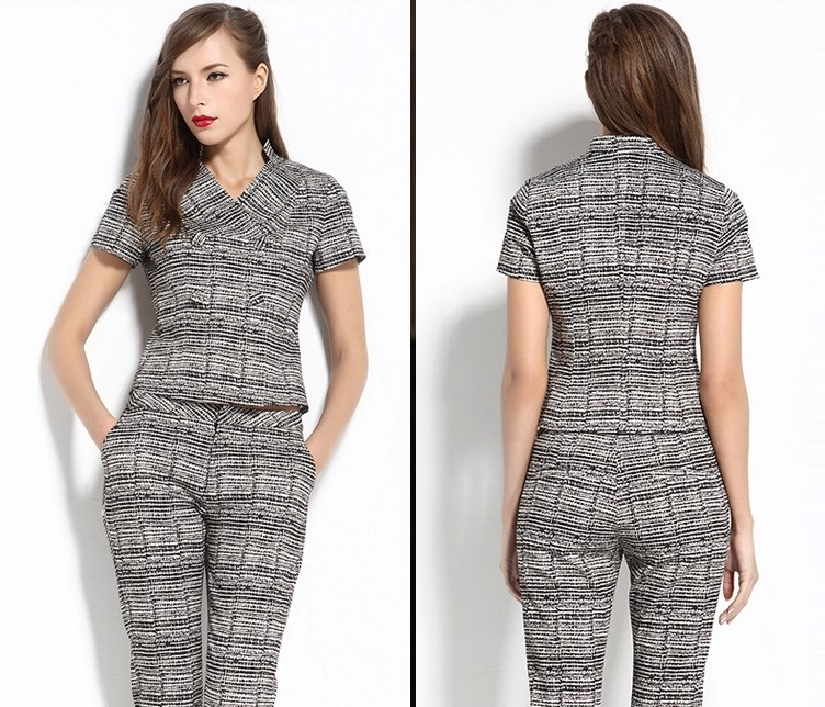 New Design Brand Womenu0026#39;s Career Outfits Fashion Formal Dress Suit Ladies Pants Suits Cheap Sale ...