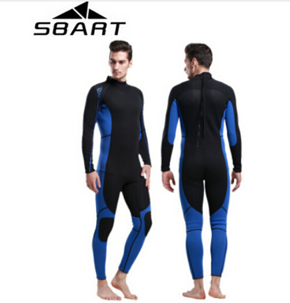 SBART Neoprene Wetsuit 3MM Surfing Wetsuits Women Mens Full Body Wet Suit Spearfishing Scuba Diving Suit sbart upf50 806 xuancai