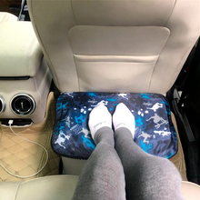 Воздушные подушки из ПВХ, многофункциональная подушка для путешествий с самолетом, надувная подставка для ног, подушка для ног на автомобиле, подушка для ног под столом