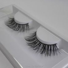 Soft Women Lady Makeup mink eyelash Thick False Eyelashes Long Black Handmade Eye Lashes extensions