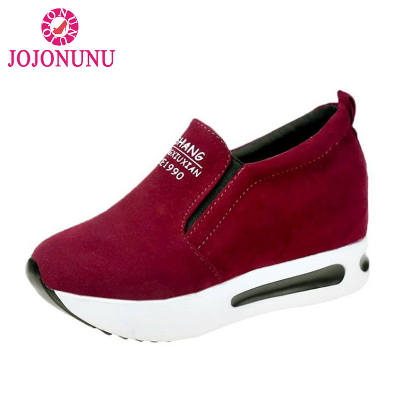 JOJONUNU Women Vulcanized Shoes Height I