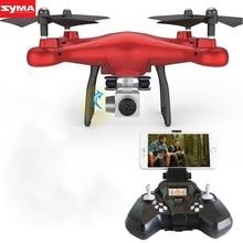 SYMA Quadcopter new high tech S10W 0.3MP 2.4Ghz Camera WIFI FPV Headless Mode Altitude Hold RC quadcopter drone dec29