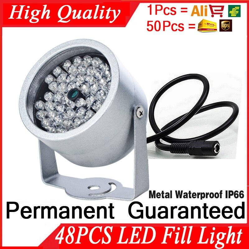 Coupe du monde vente 48Led illuminateur IR infrarouge hd nuit amélioration lumière de remplissage étanche IP66 Vision nocturne 40M lampe saferit 940nm