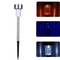 10 stks Zonne-energie LED Outdoor Path Licht Yard Tuin Gazon Landschap Spot Lamp FULI