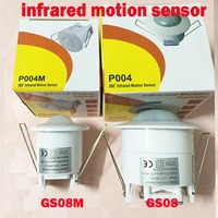 New Electric Unit Two Size 360 Degree Mini Recessed PIR Ceiling Occupancy Motion Sensor Detector