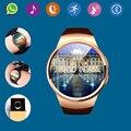 2017 hot bluetooth smart watch phone kw18 sim e tf cartão de Taxa de Coração Reloj Smartwatch Wearable App Para IOS Android mp3