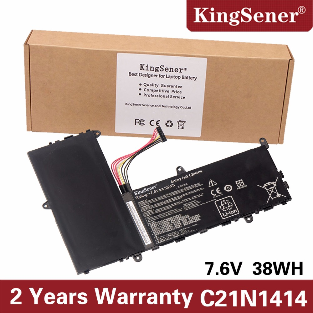 KingSener New C21N1414 Laptop Battery For ASUS EeeBook X205T X205TA Series X205TA-BING-FD015B 11.6