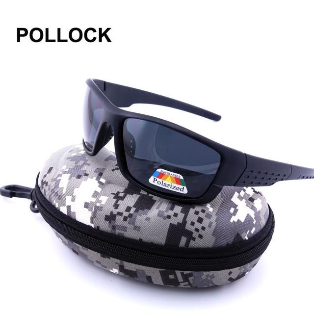 talla 40 3c4fe ad3e2 € 8.07 40% de DESCUENTO|Pollock militar promoción polarizadas Gafas de sol  hombres conducción Sol Gafas oculos gafas de sol lunettes con camuflaje ...