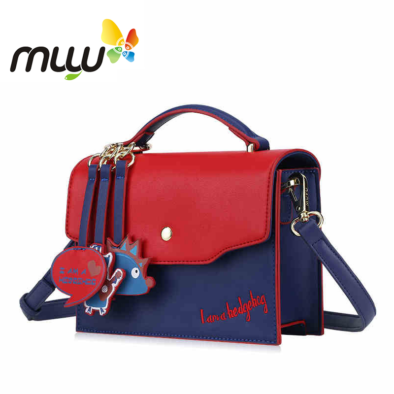 Muyu PU Women Messenger Bags Flap Zipper Hasp Casual Removeable Adjustable Straps Single Shoulder Bags Soft Handle Bags