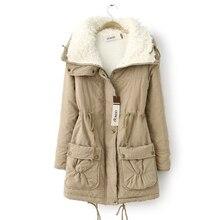 Hot Sale Coat Female Winter Fashion Solid Turn Down Collar Lamb's Wool Women Jacket Coat Plus Size Casaco Feminina Jacket JT350