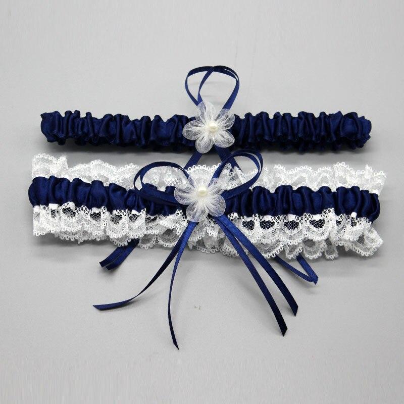 Wedding Garter, Bridal Garter, Lace Garter Set Floral Stretch Lace Bridal Garter Lace & Pearls style fishnet lace panel garter