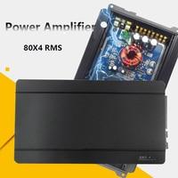 GJCHELIVE Large Four Channel Car Auto Sound 80W 4 Subwoofer Power Amplifier Super Digital Analog Amplifier