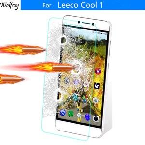 Image 1 - 2ST Ausgeglichenes Glas Leeco Kühler 1 Schirm Schutz für Leree Le 3 Glas Anti Explosion Film für Leeco Coolpad Cool1 Leeco Cool1