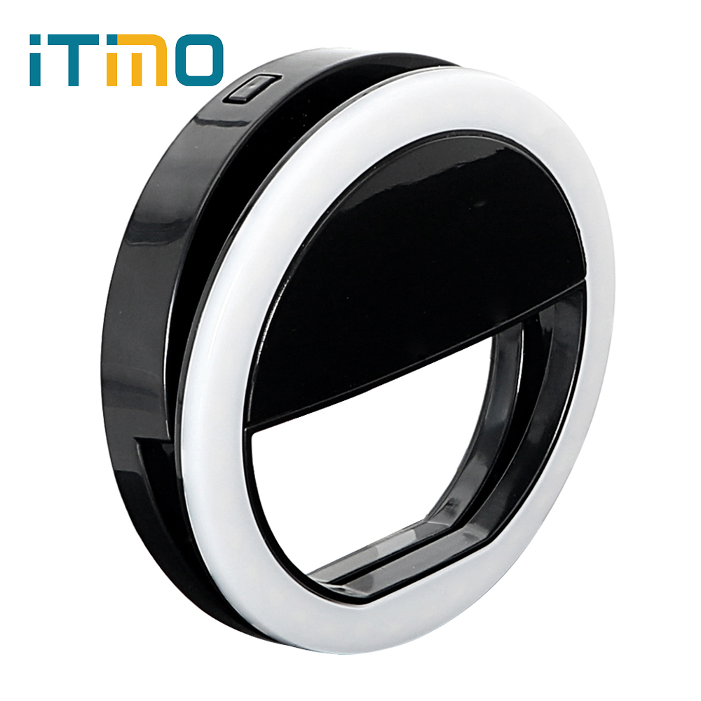 ITimo 36 LED Flash Fill Light Portable Mini Cell Phone Camera Filllight For iPhone IOS Android Smartphone стоимость