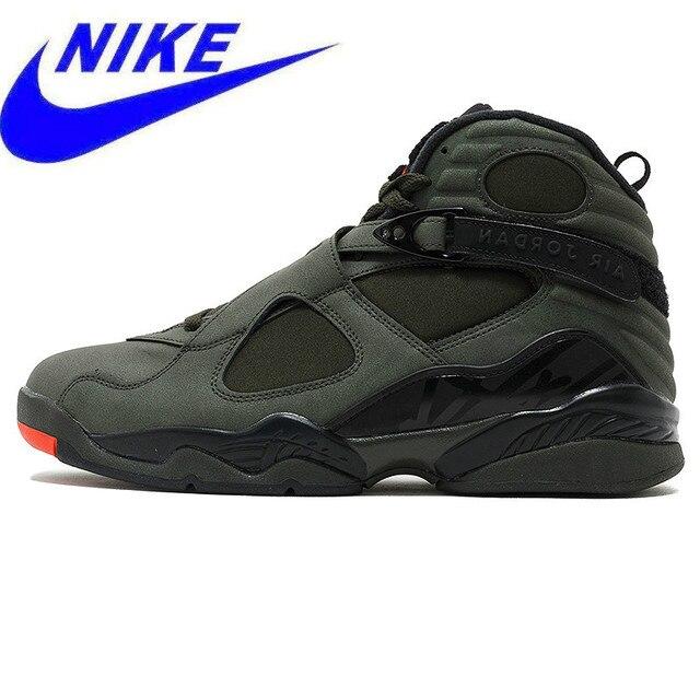 61f8d0d510c4 NIKE Air Jordan 8 Retro AJ8 Men s Basketball Shoes Sport Sneakers ...