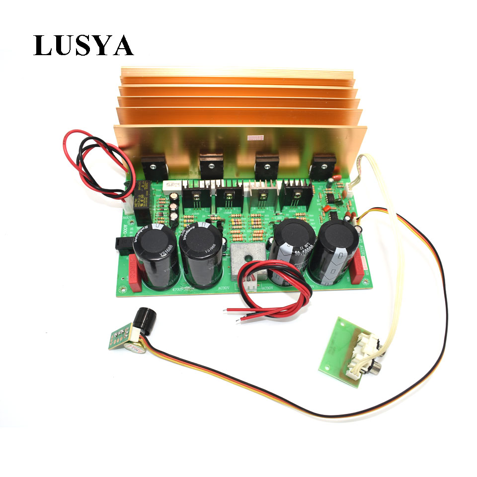 Lusya high power KTV subwoofer amplifier 500W pure bass BTL circuit super power amplifier board AC dual 24V 150w pure tone bass amplifier board high power 12v toshiba 8 12 inch subwoofer core tube vehicle