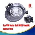 Direito Frente Grille LED luzes de Nevoeiro Luzes de Nevoeiro Para VW Tiguan Touran Jetta Golf MK5 Coelho 2005-2010 1T01K0941700 #9278