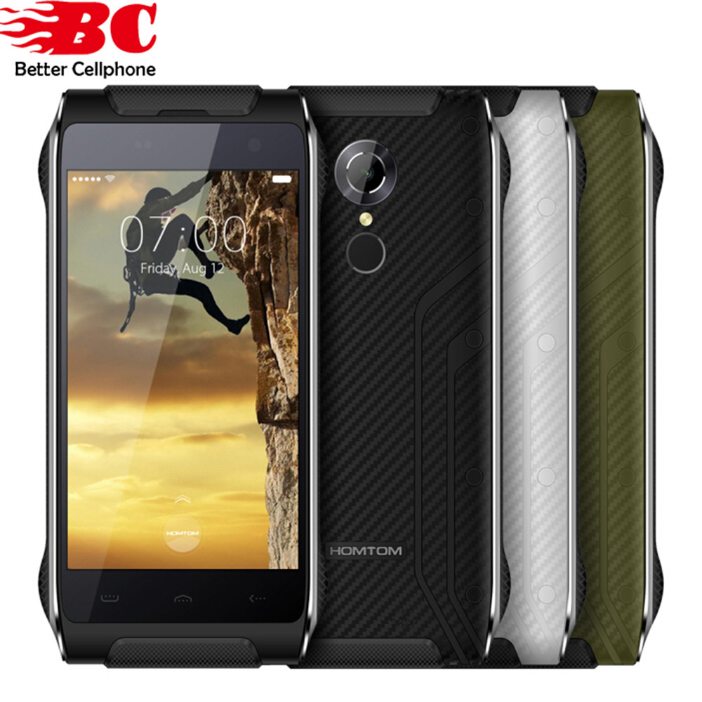 HOMTOM HT20 Android 6 0 MTK6737 Quad Core 8 0MP Cellphone 4 7 2G RAM 16G