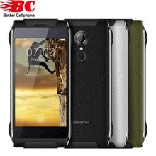 """Homtom ht20 android 6.0 mtk6737 quad core 8.0mp téléphone portable 4.7 """"2G RAM 16G ROM 4G Étanche IP68 D'empreintes Digitales FDD-LTE Téléphone Mobile"""