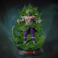 2019 Dragon Ball Super Banpresto Broly Broli Gogeta Goku 45cm Resin Statue Action Figure Scene Model Collection Toy